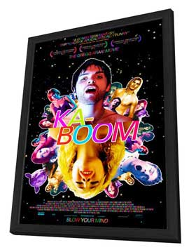 Kaboom - 27 x 40 Movie Poster - Style A - in Deluxe Wood Frame