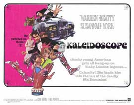Kaleidoscope - 22 x 28 Movie Poster - Half Sheet Style A