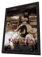 Kalifornia - 11 x 17 Movie Poster - Style A - in Deluxe Wood Frame