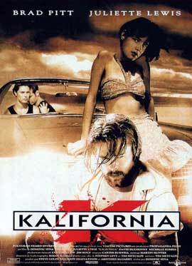 Kalifornia - 11 x 17 Movie Poster - French Style B