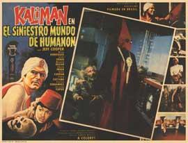 Kalim�n en el siniestro mundo de Human�n - 11 x 14 Poster Spanish Style A