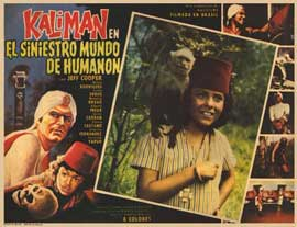 Kalimn en el siniestro mundo de Humann - 11 x 14 Poster Spanish Style B