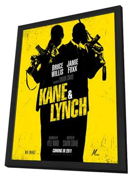 Kane & Lynch - 27 x 40 Movie Poster - Style A - in Deluxe Wood Frame