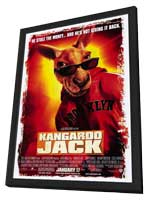 Kangaroo Jack - 11 x 17 Movie Poster - Style A - in Deluxe Wood Frame