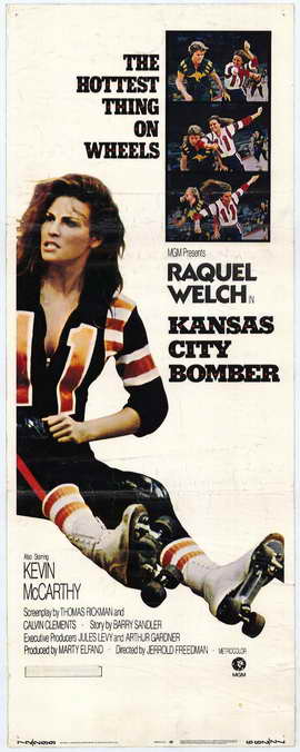 Kansas City Bomber - 14 x 36 Movie Poster - Insert Style A