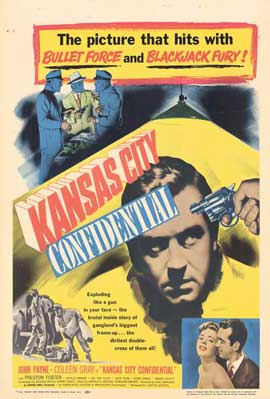 Kansas City Confidential - 11 x 17 Movie Poster - Style A