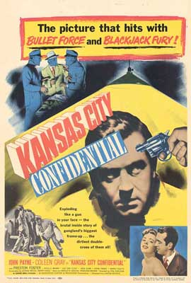 Kansas City Confidential - 27 x 40 Movie Poster - Style A