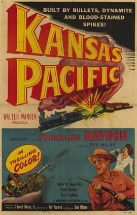 Kansas Pacific - 11 x 17 Movie Poster - Style A