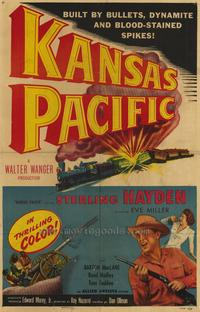 Kansas Pacific - 27 x 40 Movie Poster - Style A