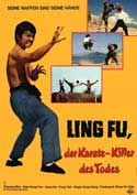 Karado: The Kung Fu Flash - 27 x 40 Movie Poster - German Style A