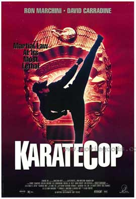Karate Cop - 11 x 17 Movie Poster - Style A