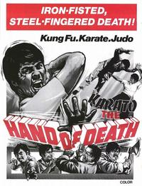 Karato - Hand of Death - 11 x 17 Movie Poster - Style A