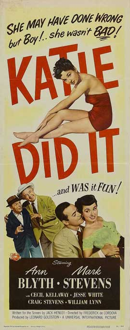 Katie Did It - 14 x 36 Movie Poster - Insert Style A