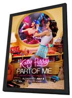 Katy Perry: Part of Me 3D - 11 x 17 Movie Poster - Style A - in Deluxe Wood Frame