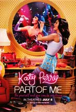 Katy Perry: Part of Me 3D - DS 1 Sheet Movie Poster - Style A