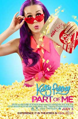 Katy Perry: Part of Me 3D - 11 x 17 Movie Poster - Style B