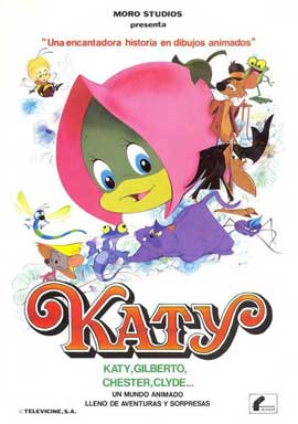 Katy the Caterpillar - 27 x 40 Movie Poster - Style A