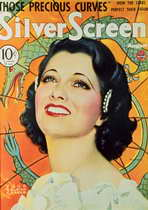 Kay Francis - 11 x 17 Silver Screen Magazine Cover 1930's Style A