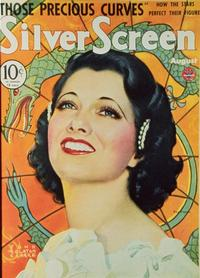 Kay Francis - 27 x 40 Movie Poster - Silver Screen Magazine Cover 1930's Style A