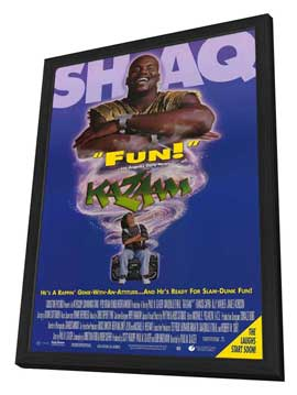 Kazaam - 27 x 40 Movie Poster - Style A - in Deluxe Wood Frame