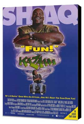 Kazaam - 27 x 40 Movie Poster - Style A - Museum Wrapped Canvas
