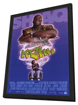 Kazaam - 11 x 17 Movie Poster - Style B - in Deluxe Wood Frame
