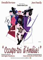 Keep an Eye on Amelia - 43 x 62 Movie Poster - French Style A