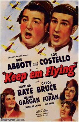 Keep 'Em Flying - 11 x 17 Movie Poster - Style A