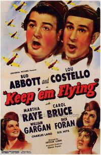 Keep 'Em Flying - 43 x 62 Movie Poster - Bus Shelter Style A