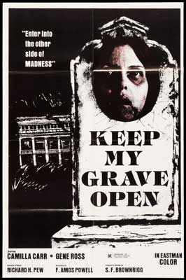 Keep My Grave Open - 27 x 40 Movie Poster - Style A