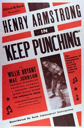 Keep Punching - 11 x 17 Movie Poster - Style A