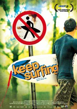 Keep Surfing - 11 x 17 Movie Poster - German Style A