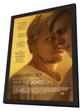 Keep the Lights On - 11 x 17 Movie Poster - Style A - in Deluxe Wood Frame