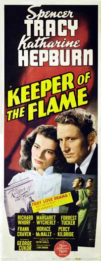 Keeper of the Flame - 14 x 36 Movie Poster - Insert Style A