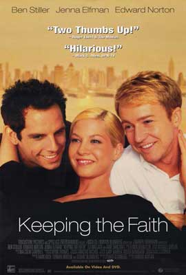 Keeping the Faith - 27 x 40 Movie Poster - Style A