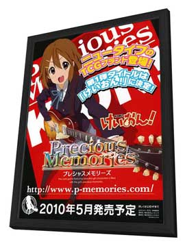 Keion! - 27 x 40 Movie Poster - Japanese Style C - in Deluxe Wood Frame
