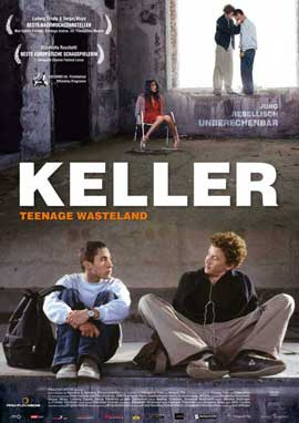 Keller - Teenage Wasteland - 11 x 17 Movie Poster - German Style B