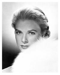 Grace Kelly - 8 x 10 B&W Photo #1