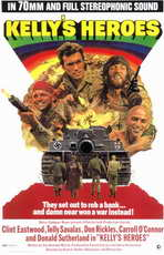 Kelly's Heroes - 11 x 17 Movie Poster - Style A