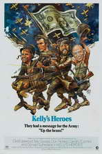 Kelly's Heroes - 11 x 17 Movie Poster - Style F