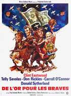 Kelly's Heroes - 27 x 40 Movie Poster - French Style B