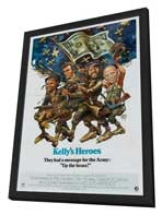 Kelly's Heroes - 11 x 17 Movie Poster - Style F - in Deluxe Wood Frame