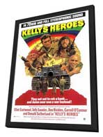 Kelly's Heroes - 27 x 40 Movie Poster - Style A - in Deluxe Wood Frame