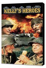 Kelly's Heroes - 11 x 17 Movie Poster - Style C - Museum Wrapped Canvas