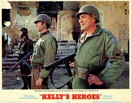 Kelly's Heroes - 11 x 14 Movie Poster - Style D
