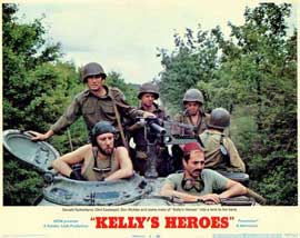 Kelly's Heroes - 11 x 14 Movie Poster - Style E