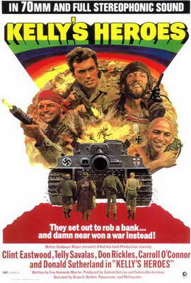 Kelly's Heroes - 27 x 40 Movie Poster - Style A