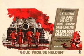 Kelly's Heroes - 11 x 17 Movie Poster - Belgian Style A