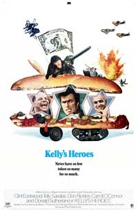 Kelly's Heroes - 43 x 62 Movie Poster - Bus Shelter Style B