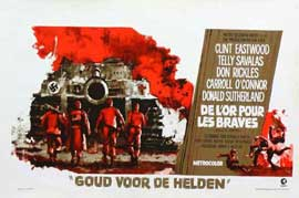 Kelly's Heroes - 27 x 40 Movie Poster - Belgian Style A